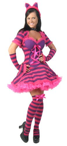 Find sexy Halloween costumes for women, men, and plus-size right here! Shop our selection for the best sexy Halloween costume ideas around! A revealing, sexy costume is sure to make your Halloween or cosplay event a memorable one. Costume Halloween, Sexy Cat Costume, Costume Chat, Costume Carnaval, Dance Costume, Cheshire Cat Halloween Costume, Halloween Ideas, Cheshire Cat Cosplay, Raccoon Costume