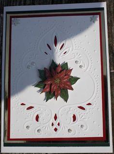 Marianne Designs Poinsettia Card