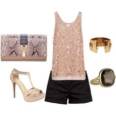 Out on the town, created by dyanna85 on Polyvore