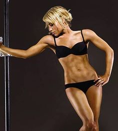 This woman is AMAZING! Tracey Anderson (celebrity trainer).. If I can look like her, that'd be awesome.