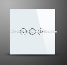EU UK US Smart Home Touch Light Switch Dimmer/dimmable with RF Remote Wall Switch Home Automation Remote Control AC110~240V