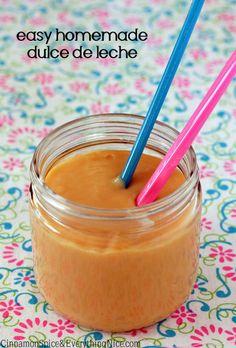 Homemade Dulce de Leche (Milk Caramel)