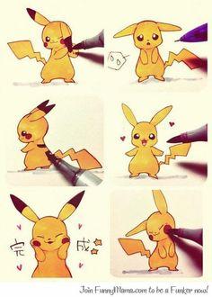 Draw Pikachu