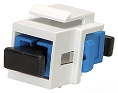 Allen Tel AT32SC-15 SC Fiber Adapter, Singlemode/Multimode Fiber, SC Simplex, White, 1 Space, Zirconia Ceramic Split Sleeve by Allen Tel. $10.65. From the Manufacturer                Designed to Perform -- Allen Tel Products, Inc. offers a complete solution of high performance communication modules for copper, fiber and CATV/Video applications. Our Versatap modular products are designed for maximum performance, interoperability, reliability and ease of installation. Channel Pe...