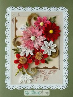 *QUILLING ~ flowers fantasy