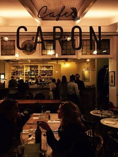 Café Caron is het familierestaurant van Alain Caron en zijn zoons David en Tom.