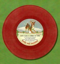 45 record christmas deer