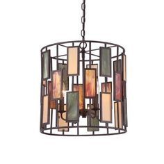 Buy the Quoizel Imperial Bronze Direct. Shop for the Quoizel Imperial Bronze Tiffany 4 Light Pendant with Tiffany Stained Glass and save. Quoizel Lighting, Pendant Lighting, Drum Pendant, Kitchen Lighting, Home Lighting, Lighting Ideas, Lighting Design, Bronze Pendant Light, Tiffany Stained Glass