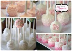This Ruffle Cake Pop Tutorial will help you to create beautifully ruffled cake pops at home. Cake Poppin' has created this tutorial to be easy and straight forward.