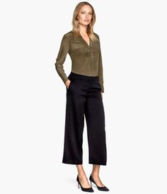 H&M Wide trousers $39.95