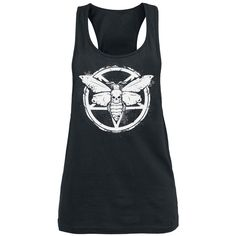 Deathmoth Pentagram Top - Top by Gothicana by EMP