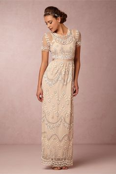 Tiered Petal Dress in Bridal Party & Guests View All Dresses at BHLDN
