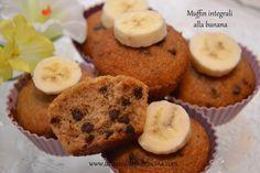 Muffin integrali alla banana