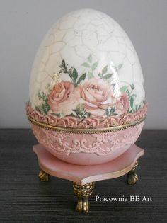Easter Gift, Easter Crafts, Easter Bunny, Easter Eggs, Fun Crafts, Easter Egg Designs, Faberge Eggs, Polymer Clay Flowers, Egg Art