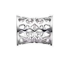 STORY by Kranz & Ziegler Silver Design Button #tonerjewelers