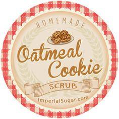 Oatmeal Cookie Sugar Scrub | Imperial Sugar Recipe