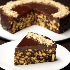 Chocolate Biscuit Cake Without Baking A sweet dessert … – Pastry World No Bake Chocolate Cake, Chocolate Biscuit Cake, Chocolate Desserts, Easy Cake Recipes, Sweet Recipes, Baking Recipes, Dessert Recipes, Keto Recipes, No Bake Desserts