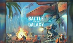 Battle For The Galaxy cover