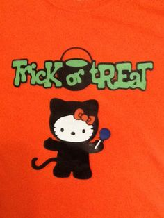 Personalized tee-shirt for halloween.  For more info visit http://clippingsbysharondalyn.blogspot.com