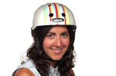 Nutcase Public Stripes Helmet--because safety.