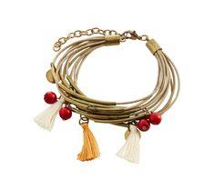 Multináramok so strapcami Tassel Necklace, Tassels, Spring, Bracelets, Jewelry, Fashion, Elegance Fashion, Moda, Jewlery