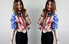 stars and stripe shirt