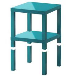 DIY Nightstand: IKEA LACK table hack