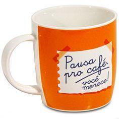 pausa para o café.