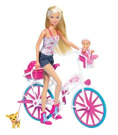 #SteffiLove #SimbaToys #Doll #kids #play #games #cute #pink #cycle