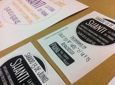 Últimos trabajos: impresión de afichetas y folletos para la feria de Prana