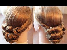 Вечерняя причёска с резинками - Элементарно! - YouTube
