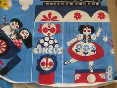VINTAGE RETRO CHITTY BANG BANG FABRIC KENNETH TOWNSEND STYLE MOTIFS 60S EAMES   eBay
