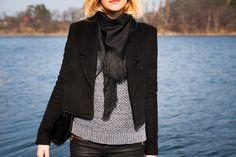 Fringe scarf ||| chaloth.se