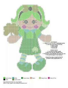 SEW SWEET IRISH DOLL 5 OF 6 by JODY VIGEANT (I cannot find Doll 6-LynneHatfield)