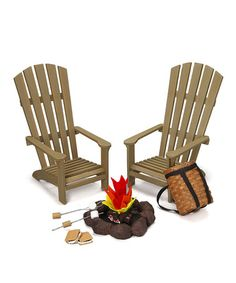 This Great Outdoors Set for 18'' Doll is perfect! #zulilyfinds