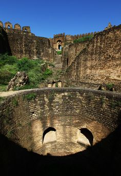 The Baoli, Rohtas Fort  - Pakistan