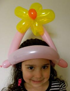flower hat #balloon #twisting