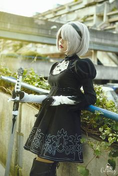 NieR:Automata - 2B  Cosplay (YoRHa type 2B) by Asuka10 // Photography by Catberry Photography