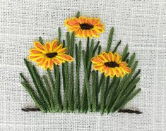 Hand Embroidery and Its Types - Embroidery Patterns Bullion Embroidery, Hand Embroidery Videos, Embroidery Flowers Pattern, Hand Embroidery Stitches, Silk Ribbon Embroidery, Hand Embroidery Designs, Cross Stitch Embroidery, Embroidery Ideas, Creative Embroidery