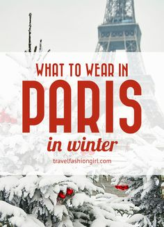 Wondering what to wear in Paris in winter? We've compiled our readers' top tips to help you prepare for the trip of a lifetime. Keep reading to learn more!