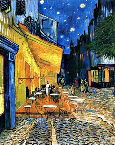 Cafe terrace at nigth 1888 Vicent Van Gogh