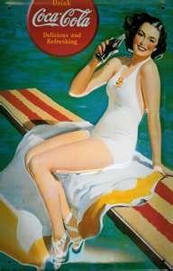 Coca Cola Pool Home Bar Vintage Metal Pub Sign > Pub Memorabilia ...
