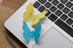 3D Butterfly Sticky Notes – The Colossal Shop