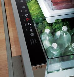 """{I must have this!!}  """"When a company introduces a product that's the first of its kind in the world, you can't help take notice. Five settings -- chill, freezer, fridge, pantry, and wine -- give this fridge drawer complete versatility and allow you to change its function as your needs change. """""""