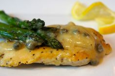 CHICKEN WITH LEMON CAPER SAUCE: This recipe can be made in under 30 minutes which makes it for the perfect weeknight meal. The presentation and flavor even makes this dish worthing of entertaining with friends and family. The saltiness of the capers and the freshness of the lemon zest puts an ordinary chicken recipe over the top.