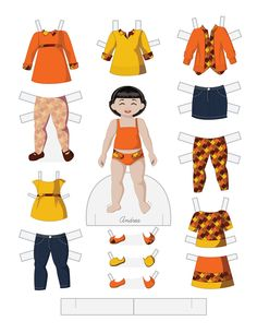 Toddler Fashion Friday - ANDREA by Julie Matthews from Paper Doll School
