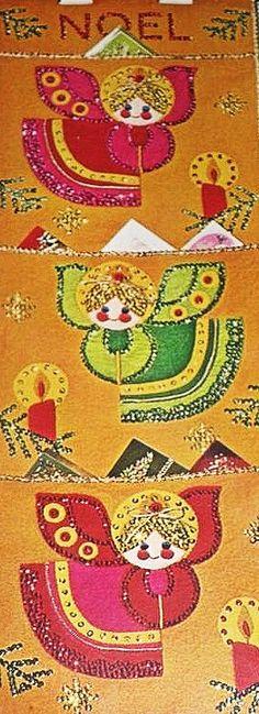 Vintage Christmas Embroidery