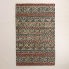 Sedona Sage and Cement Etched Area Rug - v1