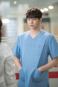 "Yoon Kyun Sang in ""Doctors"" Korean Celebrities, Korean Actors, Celebs, Dramas, Doctors Korean Drama, Kyun Sang, Netflix Horror, Kim Rae Won, Romantic Doctor"