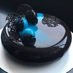 New Ideas For Pasta Art Ideas Food Coloring Beautiful Desserts, Beautiful Cakes, Amazing Cakes, Pretty Cakes, Cute Cakes, Yummy Cakes, Glaze For Cake, Mirror Glaze Cake, Mirror Cakes